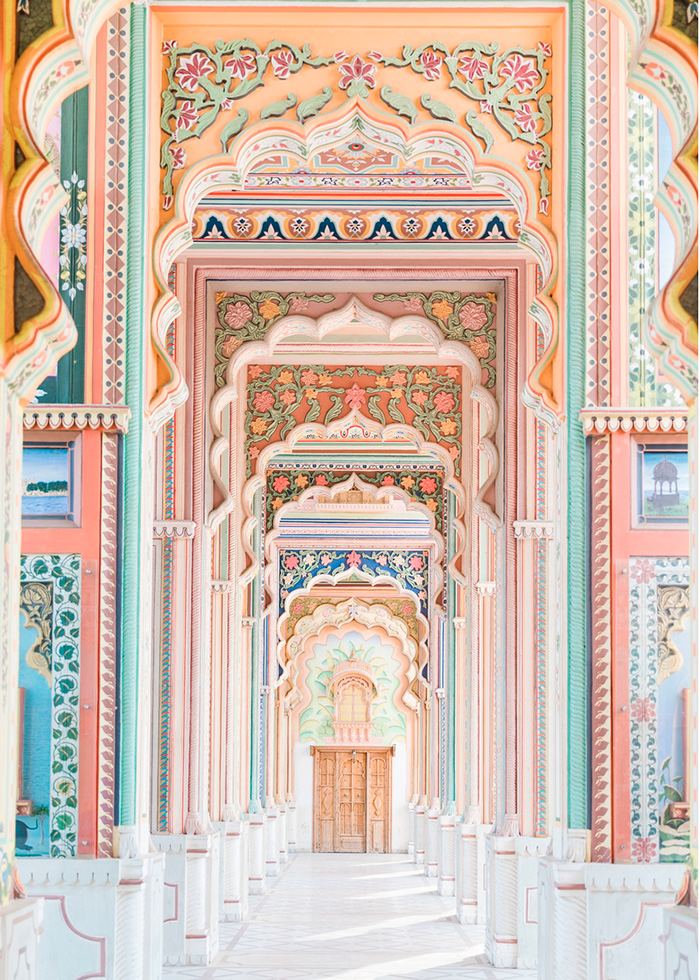 Jawahar Circle Garden in Jaipur by mariamarie