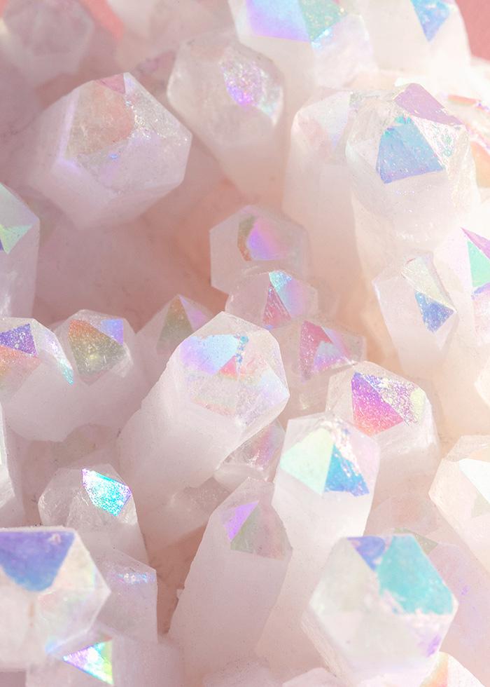 zoom in of crystal angel aura by mariamarie