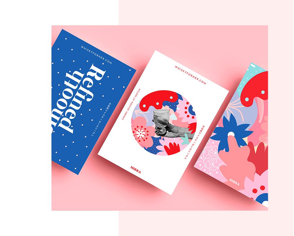 colourful graphic design by mariamarie studio