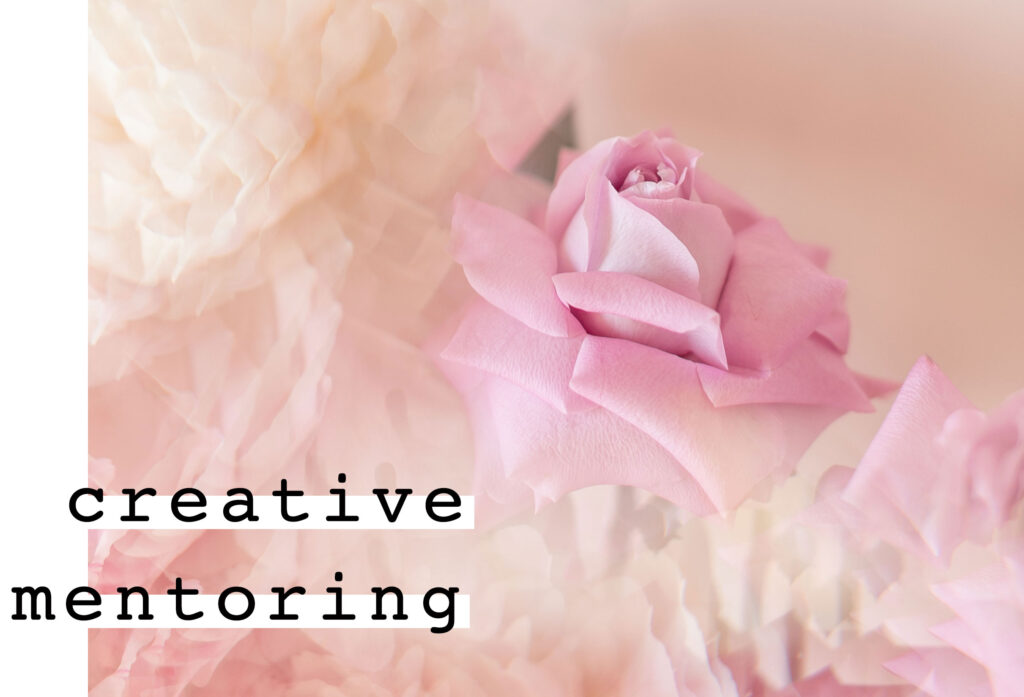 blooming flowers for creative mentoring