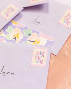 fotografía y estilismo de postales creativas hechas por MariaMarie