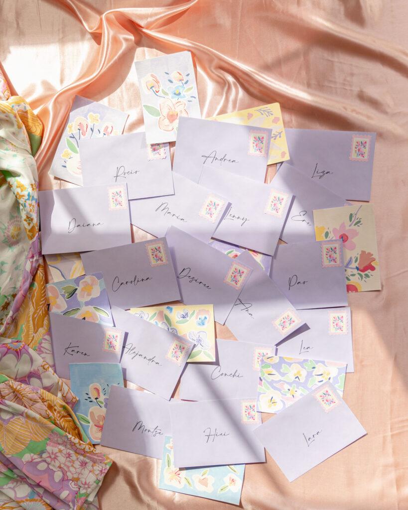 postales creativas llena de color y de creatividad por MariaMarie