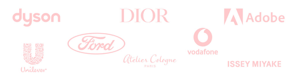 Maria Marie has worked with international brands such as dyson, ford, unilever, dior, Atelier Cologne, Adobe,