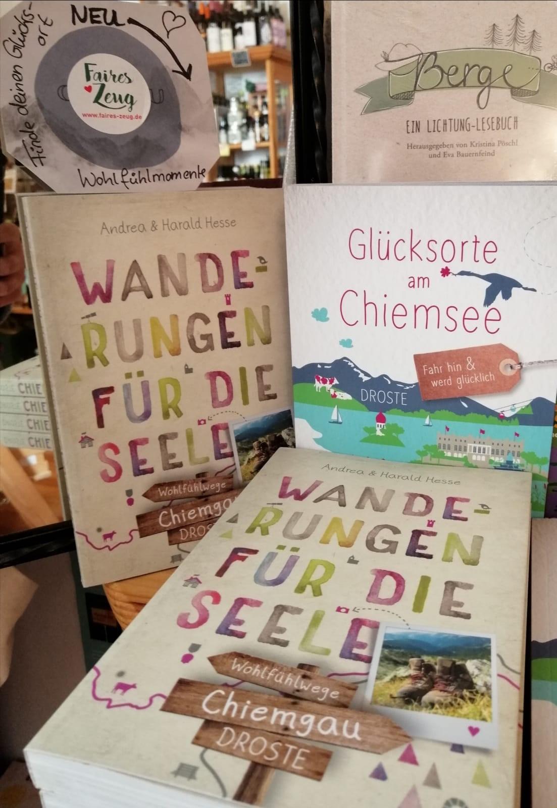 Unsere Bücher im Trostberger Laden Faires Zeug