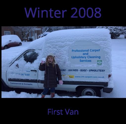 Winter 2008 Herts Pro Carpet Cleaning Van