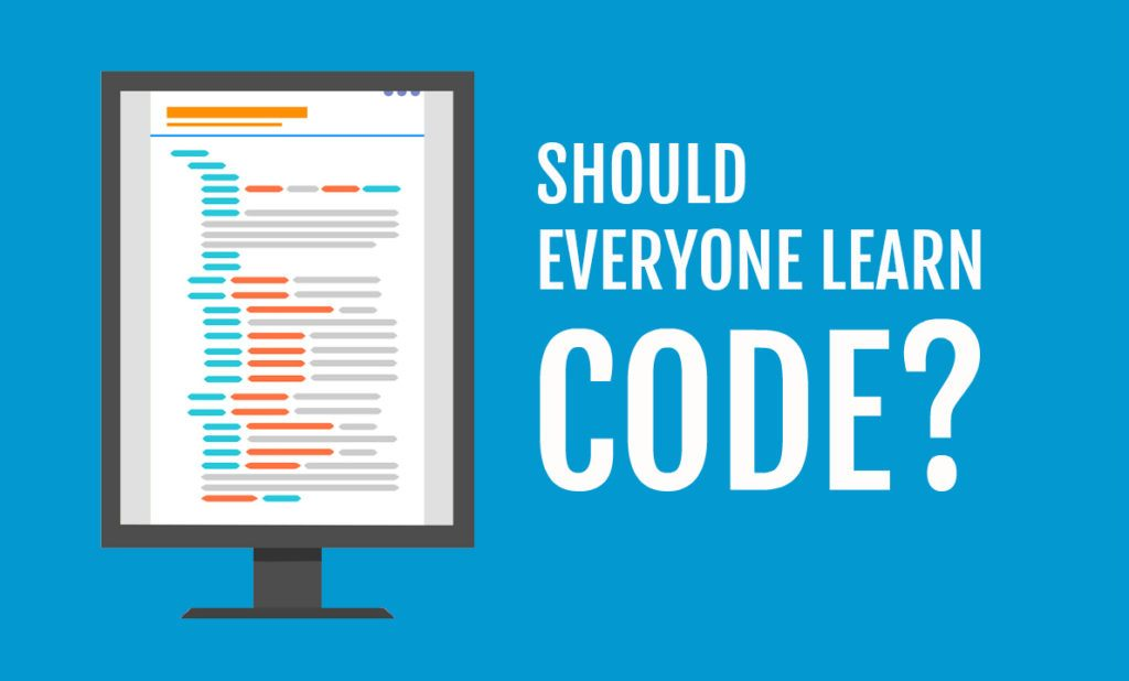 Should everyone learn code image