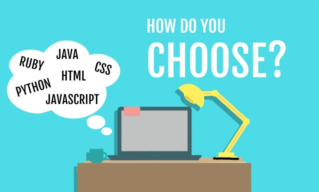 Guide to choosing your first programming language image