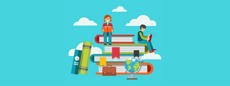 Classic learning education and school concept - Designed by Freepik