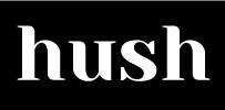 Hush-Logo-White-on-Black