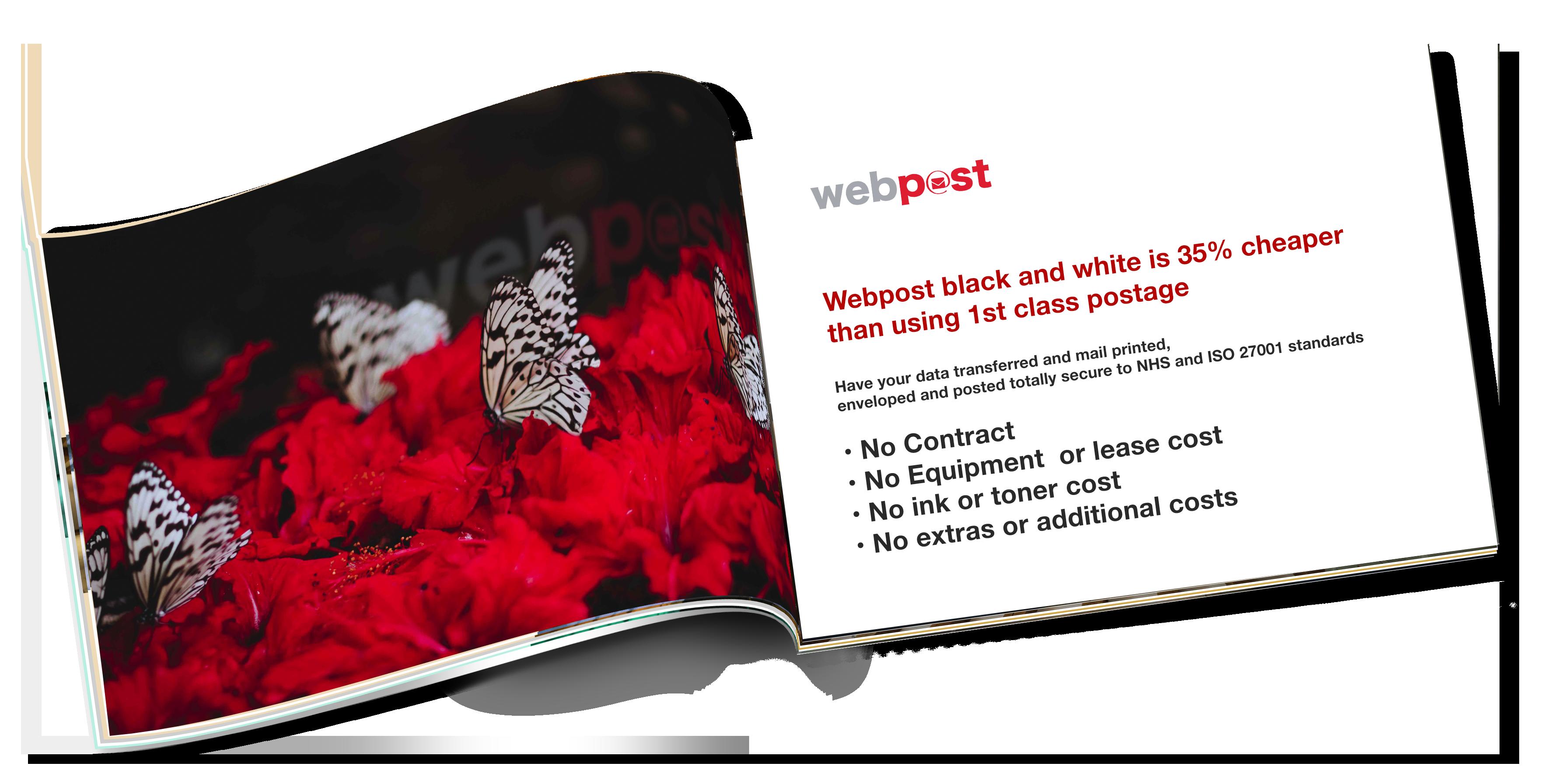 Webpost Hybrid Mail NHS
