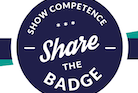 Share the BADGE