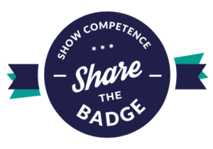 share the badge logo SMALL