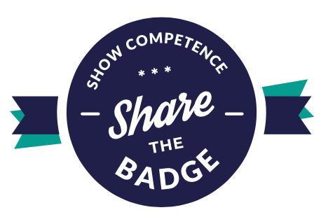 share the badge logo SMALL