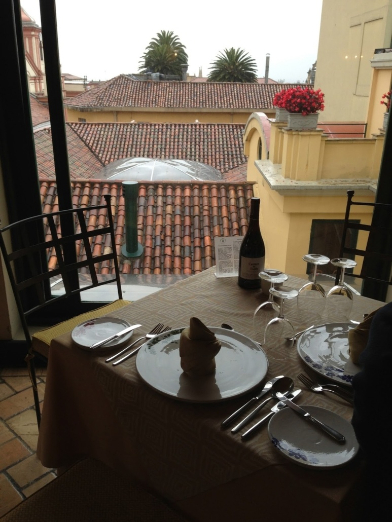 postcard de bogota -Hotel Scala
