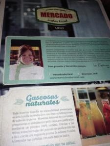 postcard de bogota - Restaurante Mercado
