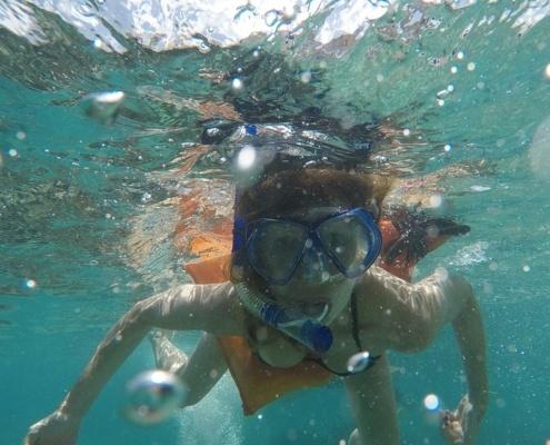 Snorkell en Pipa Brasil