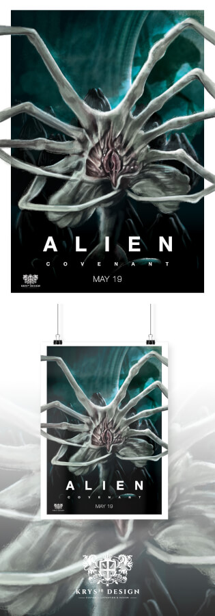 Alien Covenant Alternative Movie Poster