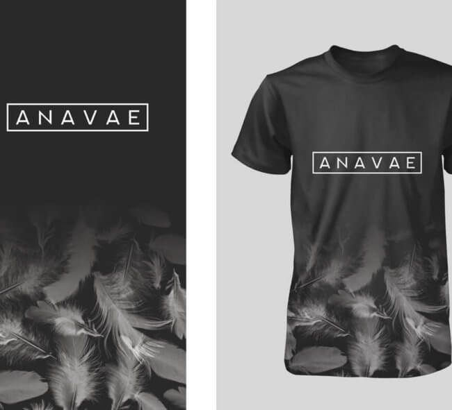 Feather Band Apparel T-shirt Design