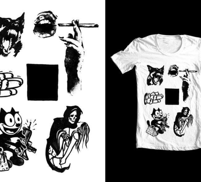 Grunge Tshirt Design