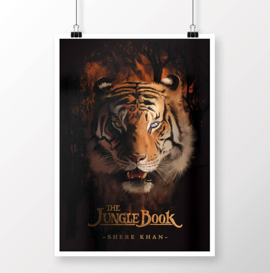 Shere Khan Jungle Book Movie Poster