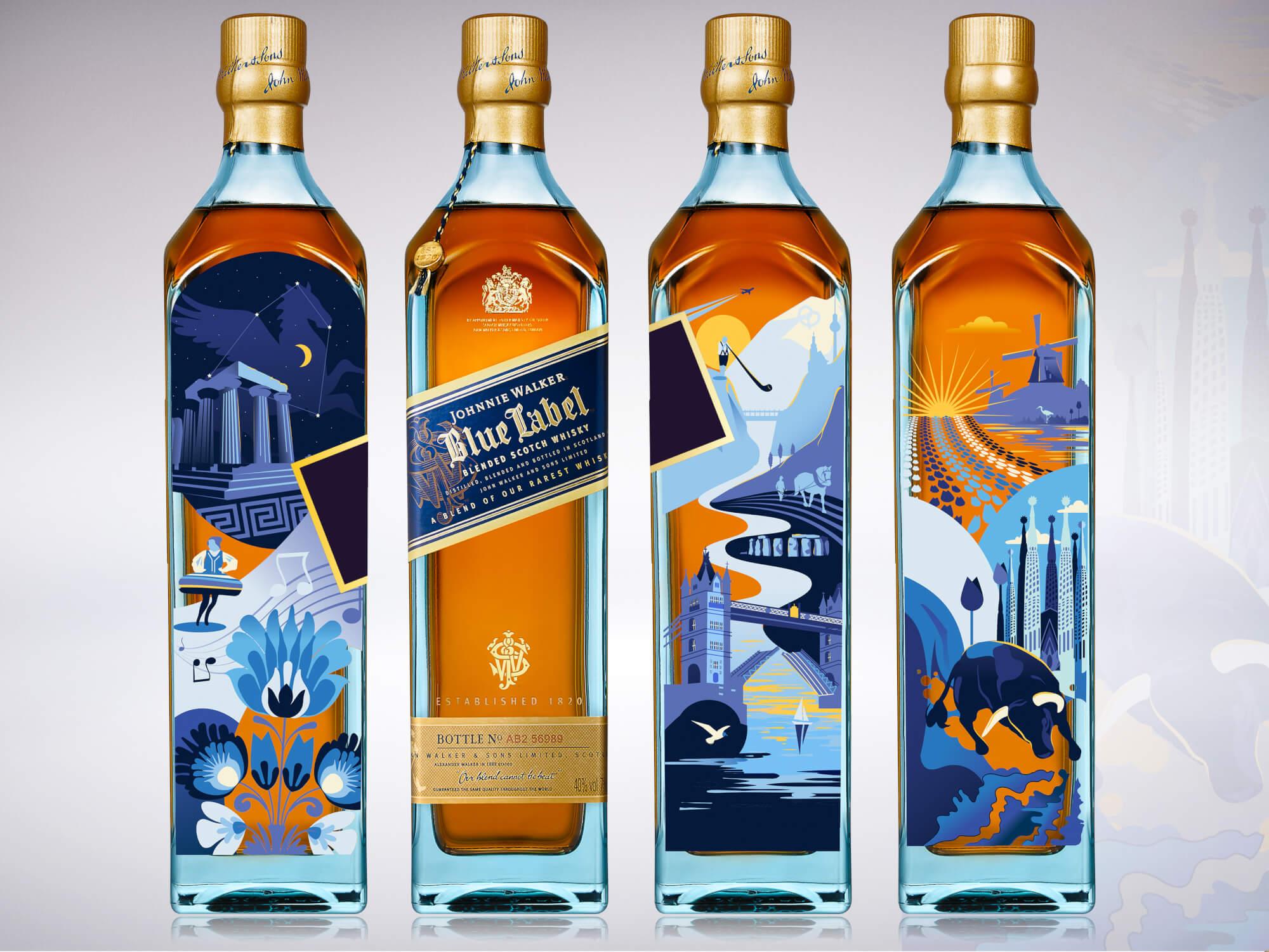 Johnnie Walker Blue Label Design - Krysten Newby