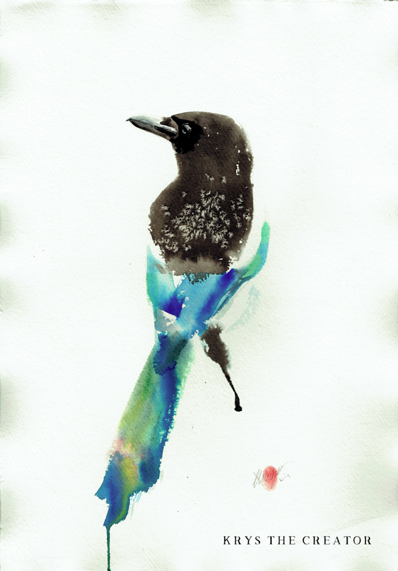 Magpie Original Artwork For Sale