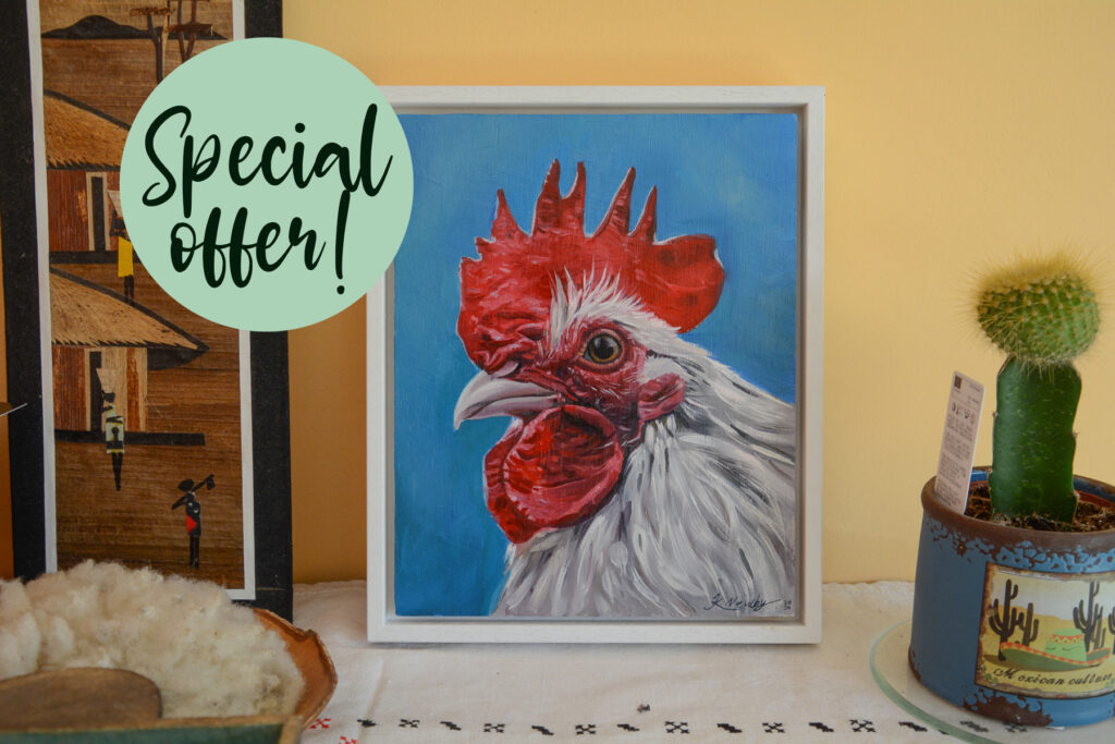 Pet Portrait Painting Special Offer