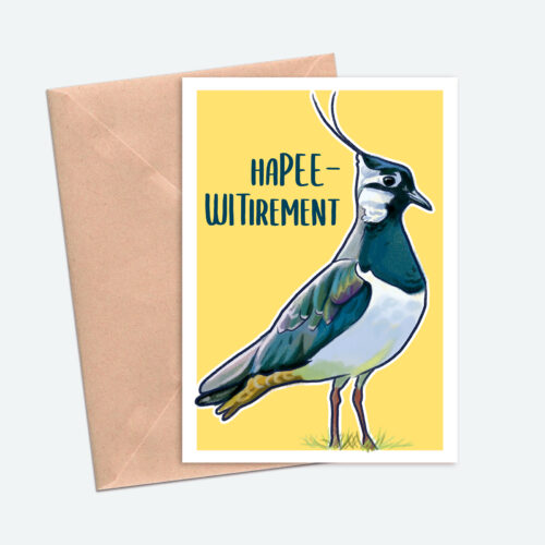 Happy Retirement Bird Card