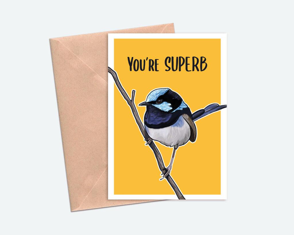 Bird Greetings Card