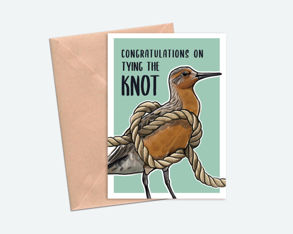 Tying-the-KNOT Greeting Card