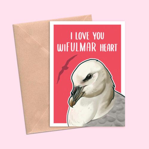 Greeting Cards For Birders Fulmar