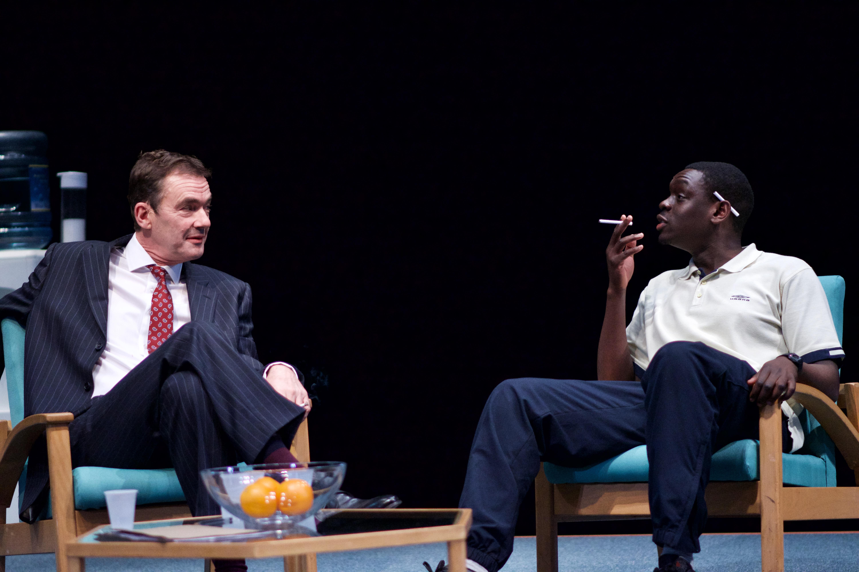 theatre review Blue Orange Birmingham REP