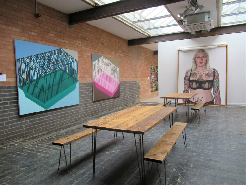 Iron House Birmingham contemporary gallery