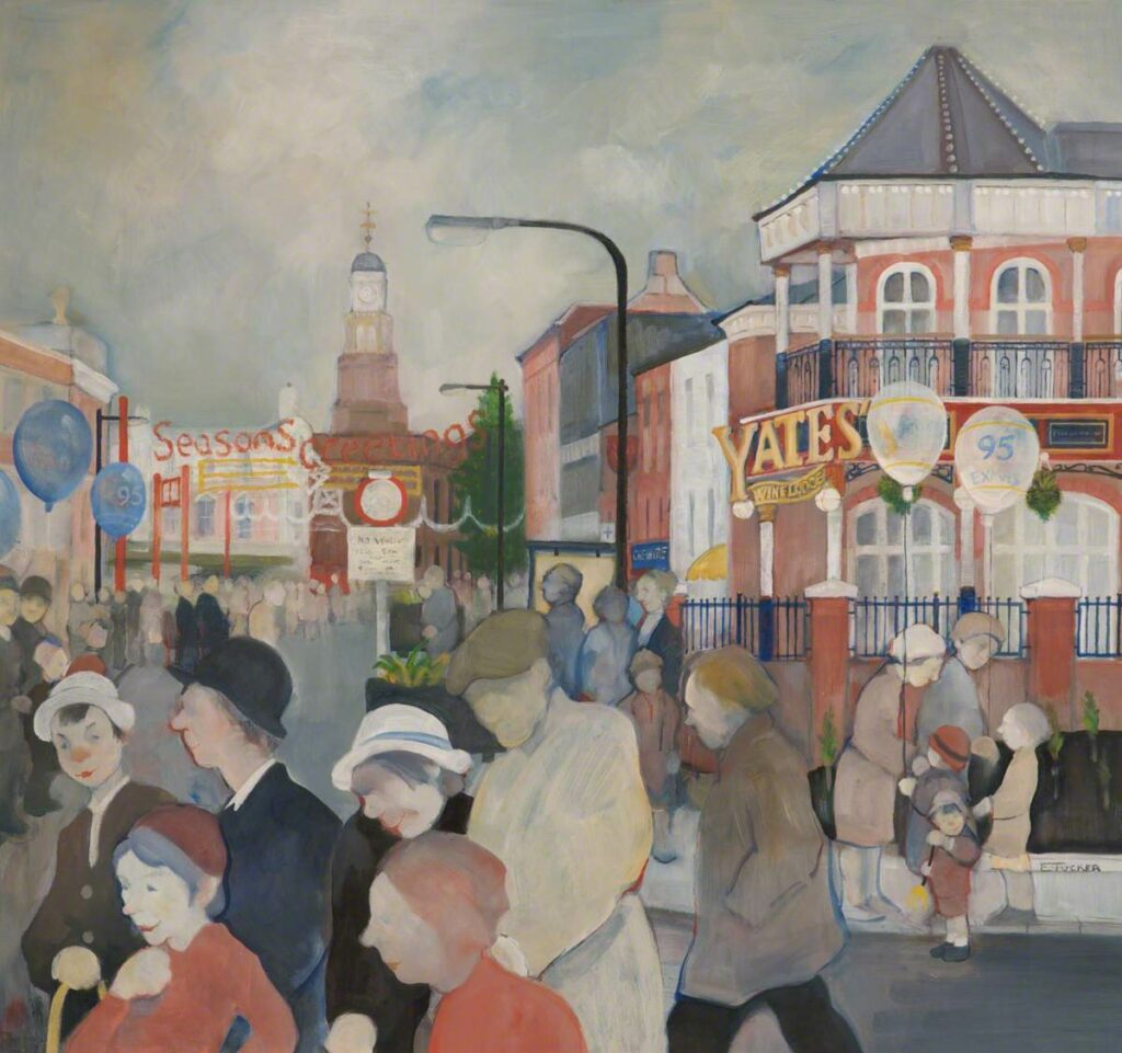 Warrington artist Eric Tucker