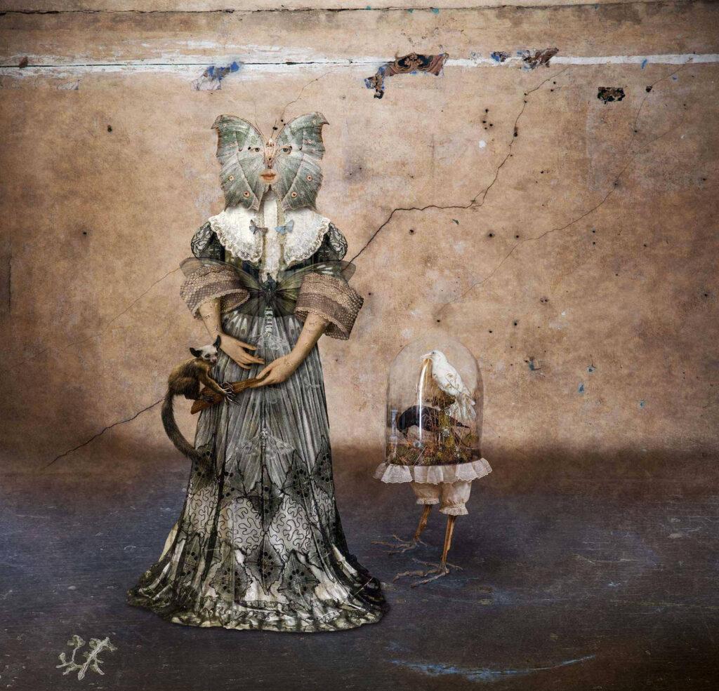 Paul Biddle surrealist muse