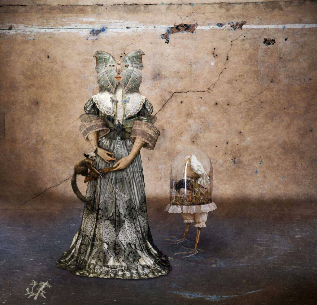 Paul Biddle surrealist muses