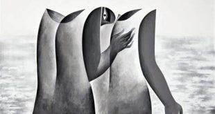 لوحة للفنان صفوان داحول