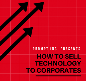 How to sell technology to corporates