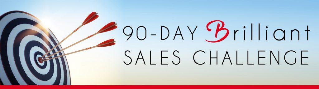90-day-brilliant-sales-challenge-target