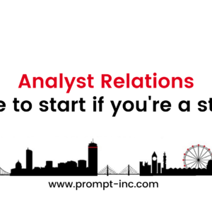 Start with Analyst Relations