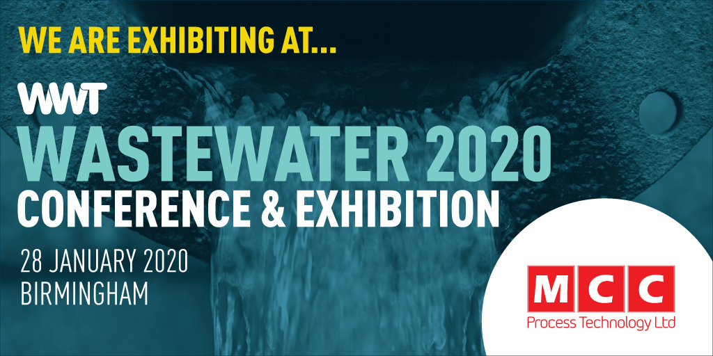 MCC Process will exhibit at WWT WASTEWATER 2020 CONFERENCE & EXHIBITION https://event.wwtonline.co.uk/wastewater/