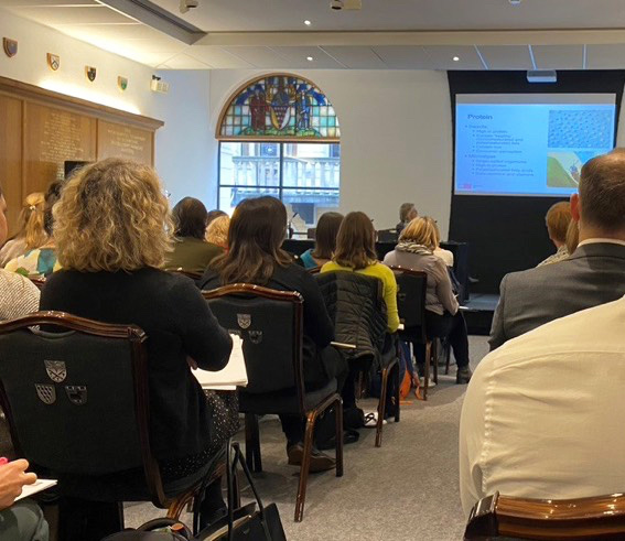 Joe Mee speaks at Westminster Forum