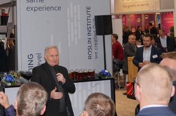 Roslin Technologies CEO Glen Illing talks genetics at Hanover's Eurotier