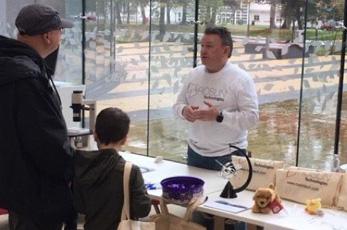 Roslin Technologies takes part in Midlothian Science Festival