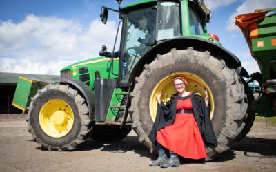Katie takes the long road to agriculture doctorate