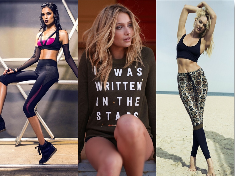 WOMEN'S BEST GYM FASHION BY POPULAR INFLUENCERS