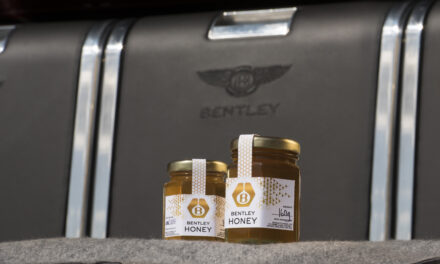 FIRST BENTLEY HONEY HARVEST CREATES A BUZZ