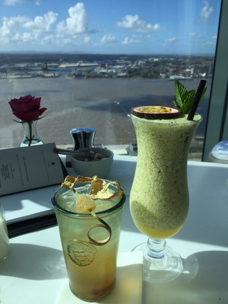 Mocktails with a view at Panoramic 34
