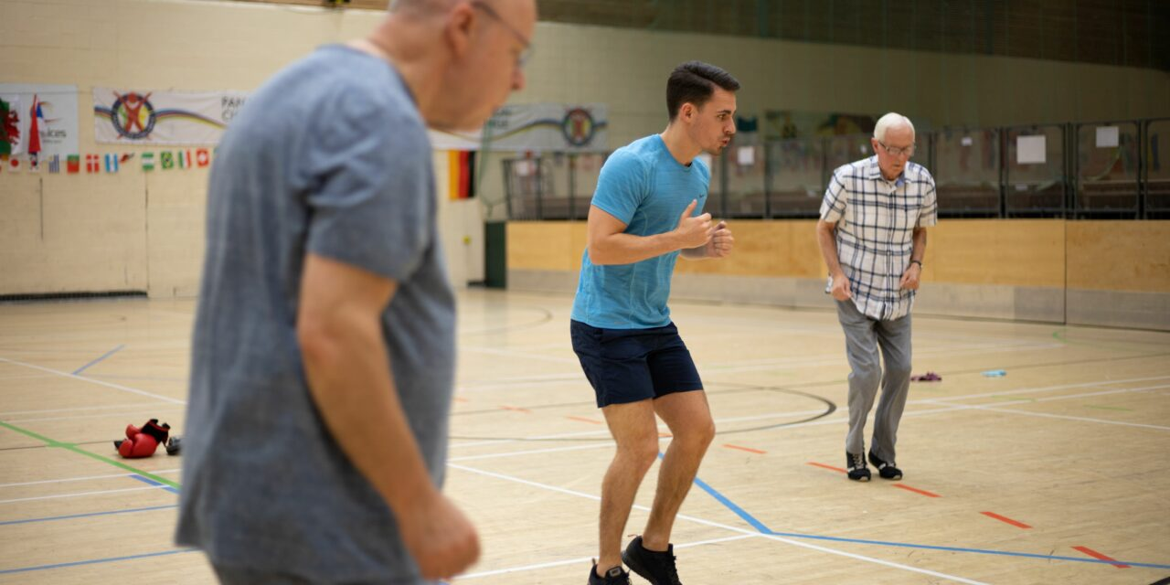 HOW BOX STEP UK IS HELPING TO FIGHT THE PROGRESSION OF PARKINSON'S