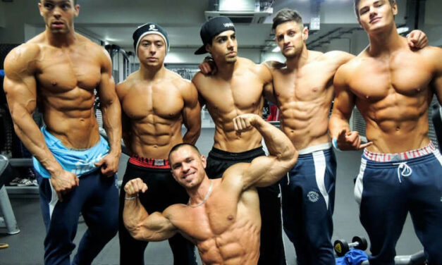 MERSEYSIDE'S MOST POPULAR MALE BODYBUILDERS